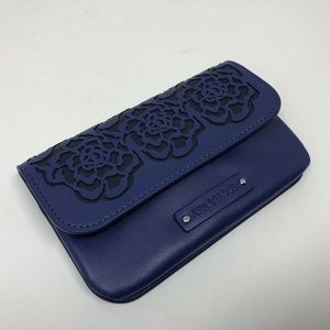 Vera Bradley Coin Purse ID Holder Floral Leather